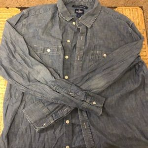 Old navy jean button-up